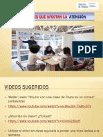 PPT 03 Variables Que Afectan La ATENCIÓN