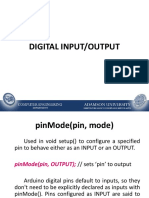 Topic 3 - Digital Input-Output