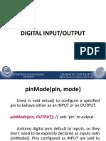 Topic 3 - Digital Input-Output