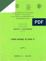Curso Nacional de Rayos X