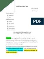 Translation Paradox