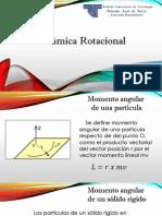 Trabajo Física I S1 Dinamica Rotacional