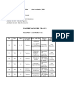 Planificación Comisión II