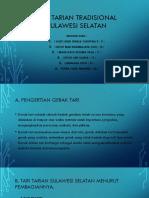 Tari Tarian Tradisional Sulawesi Selatan