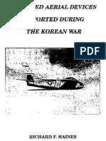 UFOs during the Korean war