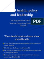 Global Health, Leadership and Policy_20170928
