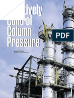 Effectively Control Column Pressure