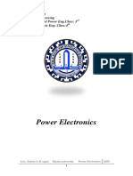 Power Electronics محاضرات