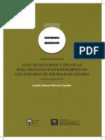 Guía de Recusos y Técnicas Para Diagnóstico Participativos Con Enfoque de Equidad de Género-1