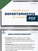 Atendimento Publicitário - Departamentos de uma agência