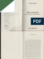 Claudio Iglesias - Falsa Conciencia (Caps 1-3 y Epilogo)