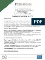 Evaluación Práctica Estática y Mecánica 2017-2