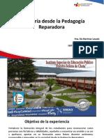 """Experiencia de formación inicial docente - Instituto """"Nuestra Señora de Chota"""""""