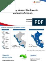Experiencia y gestión de desarrollo de la docencia en los colegios Innova Schools
