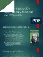 La Desensibilización Sistematica