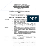 Sk & Lampiran Pembentukan Tim Penanggulangan Bencana