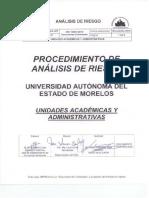 procedimiento de analisis de riesgos