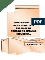 Fundamentos de Didactica en Educacion Tecnica Industrial