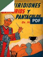 Enchiridiones, Grimorios y Pantáculos