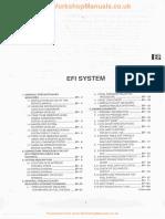 Section EF EFI System