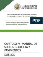 IV. Manual de Carreteras, Suelos, Geologia y Pavimentos
