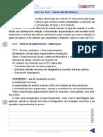 Aula 01 - Critérios Da FCC - Análise de Temas