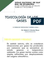 Toxicologia de Gases y Solventes y Acidos