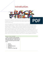 track and field webquest