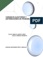 V a y Distribuciones de Probabilidad