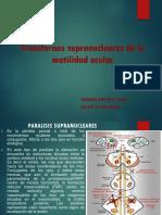 Paralisis Oculomotoras