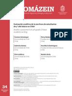 Evaluación Analítica de La Escritura de Estudiantes de 4º Año Básico en Chile