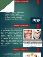 Vitaminas y Cavidad Oral - Alimentos Que Lo Contienen