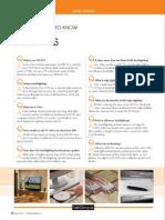 LED TV FAQ via First Glimpse August 2010