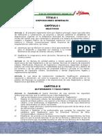 Reglamento Local de Construcciones Del Canton Loja