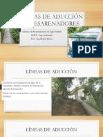 7 P Líneas de Aducción y DESARENADORES.pdf