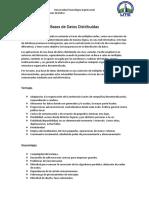 Resumen Bases de Datos Distribuidas