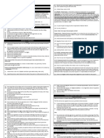 Labor Law Review - Table of Jurisdiction and Remedies