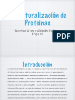 Laboratorio de Proteinas