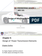 Chapter 4 Design of Power Transmission Elements