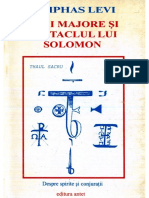Eliphas Levi-Chei Majore Si Pentaclul Lui Solomon