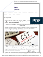 Impact of GST on Import, Export, EPCG, Advance Authorisation, DEEC, DFIA, SEIS & MEIS _ Charteredonline.pdf