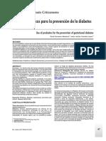 Cornetero-Mendoza Uso de Probioticos Para La Prevencion de La Diabetes Gestacional E