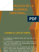 La Naturaleza de La Inteligencia Emocional.