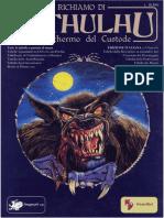Il Richiamo Di Cthulhu - Schermo Del Custode D100 Ita