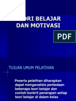 2. Teori Belajar Dan Motivasi