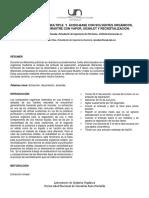 Laboratorio Q. Organica- 1er Informe
