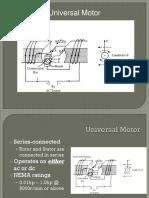 Universal Motor Ppt