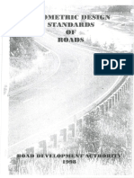 Geometric Design Standards of Roads