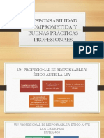 Responsabilidad Comprometida y Buenas Practicas Profesionales
