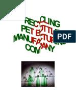 Business Plan ( Pet Bottle)